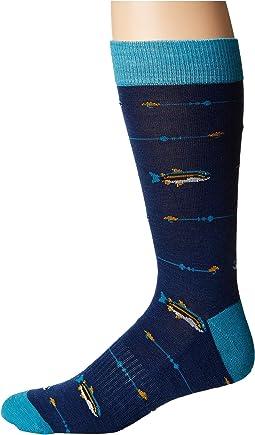 Richer Poorer - Angler Hiking Light Sock
