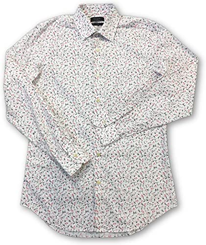 Paul Smith London Shirt in blanc rose Floral Design - 15