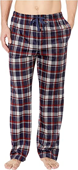 Luxe Fleece Plaid Pants