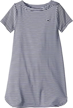 Short Sleeve Stripe Sankaty Dress (Toddler/Little Kids/Big Kids)