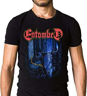 Entombed Left Hand Path T-Shirt 1990 - Death - Dismember at the Gates (Extra Large)