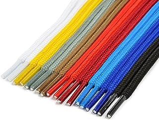 Cordón redondo para zapatillas, para zapatillas de deporte, botas de montaña, calzado de trabajo; en distintos colores; de la marca Ganzoo