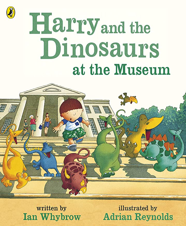 平凡オーバーヘッドせせらぎHarry and the Dinosaurs at the Museum (English Edition)