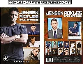 Jensen Ackles Unofficial Calendar 2020 + Jensen Ackles Refrigerator Magnet
