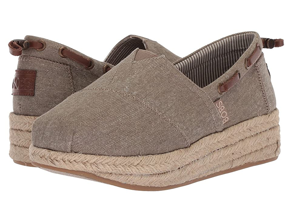 BOBS from SKECHERS Highlights Ocean Spell (Dark Taupe) Women
