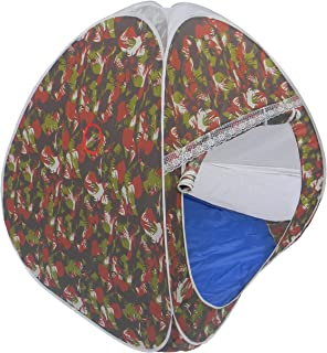 HOMECUTE Non-toxic Foldable Camouflage Play Tent House (Multicolour, 1-12 years)