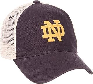 Zephyr NCAA Men's Relaxed Fit Vintage- University- Adjustable Trucker Hat Cap