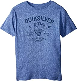 Quiksilver Kids - Old Cat Vibe Tee (Big Kids)