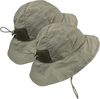 N'Ice Caps Kids and Baby SPF 50+ UV Protection Breathable Sun Hat - 2pc Pack