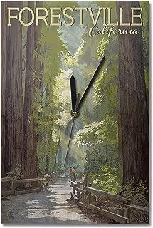 vintage forestville clock