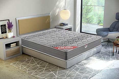 Pikolin Egeo - Colchón viscoelástico carbono de gama alta, máxima calidad y confort, firmeza media, altura 24 cm, 150 x 190 cm