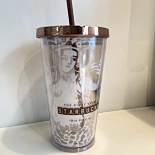 スターバックス パイクプレイス タンブラー コールドカップ ストロー マグ シアトル 1号店 PIKE PLACE (Starbucks) 海外限定品 アメリカ 北米 473ml/ 16oz マイボトル レア