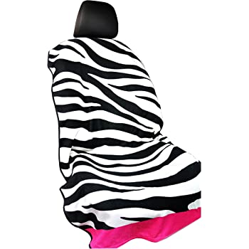 Zebra Black Y 40 THIEVES Sweat Towel Auto Car Seat Cover Machine Washable for Yoga Running Beach Swimming Boxing Workout Outdoor Sports