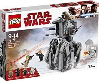 LEGO Star Wars First Order Heavy Scout Walker 75177 Playset Toy