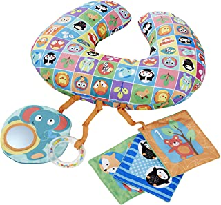 Chicco Animal Tummy Time Boppy Pillow, 520 Grams