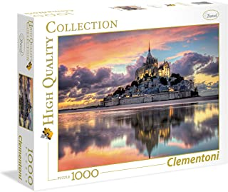 Clementoni - 39367 Collection - Le Magnifique Mont Saint-Michel - 1000 Pieces
