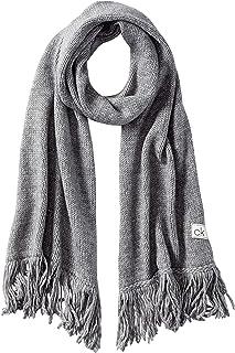 Calvin Klein Scarf 40X180 Juego de accesorios de invierno, Jaspeado, gris medio, talla única para Mujer
