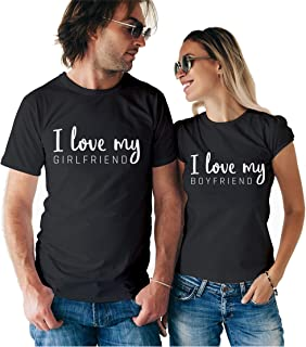Lovely Matching Couple T Shirts - His and Hers Custom Shirts - Couples Outfits for Him and Her