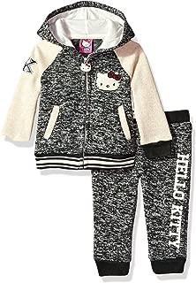 Toddler Girls' 2 Piece Hooded Fleece Active Set