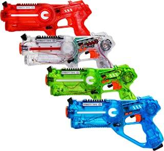 Best Dynasty Toys Laser Tag Set for Kids Multiplayer 4 Pack Review