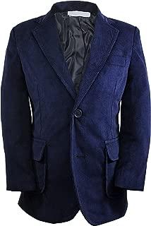 Toddler Boys' Single Breasted Corduroy Blazer Jacket