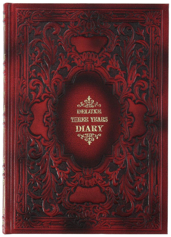 口頭数字憲法ナカバヤシ 手帳 三年日記 赤 D-3000-1