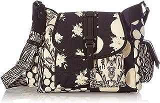 Desigual Women's Fabric Shoulder Bag, Black, U U