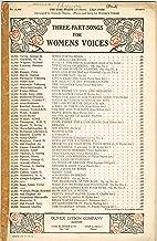 THE KISS WALTZ (Il Bacio) (Three-Part for Women's Voices [SSA], with Piano Accompaniment