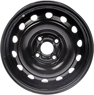 "Dorman 939-105 Steel Wheel (14x5.5""/4x100mm),Black"