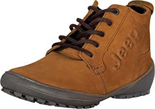 Jeep Boots Women's Adventures Hiking & Backpacking Flat Leather Booties
