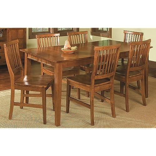 Oak Dining Room Set Amazoncom