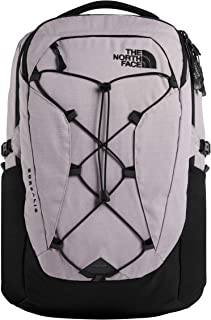 The North Face Women's Borealis Backpack, Ashen Purple Light Heather/Tnf Black