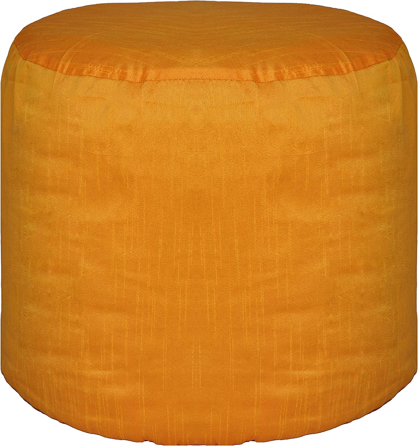 Selling and selling Gifts Pouf Cover Round Ottoman Footstool 22