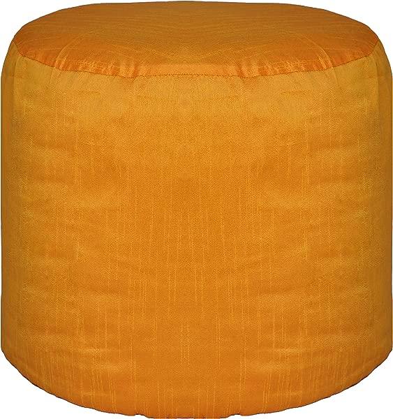 圆形有点装饰罩脚凳套涤纶橙色月直径个月身高厘米直径 × 30 40 厘米身高仅不塞插入不包括