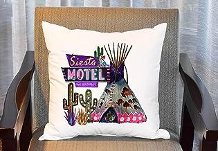 FloradeSweet Southwest ökenkuddöverdrag, sydvästra tipi kuddfodral, kaktus, tält sydvästra dekor