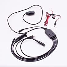 maxtop APCRS232-CM5 5 in 1 Multifunctional RS232 Programming Cable for Motorola AXU4100 AXV5100 CP200 CP340 EP450