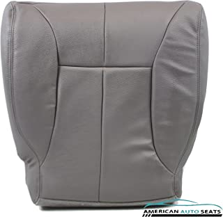 Us Auto Upholstery Compatible With 1998 1999 Dodge Ram 1500 SLT Laramie -Driver Side Bottom Synthetic Leather Seat Cover Gray