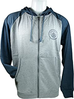 Manchester City F.C. Summer Light Jacket Sweatshirt Official License Soccer Youth Hoodie 008