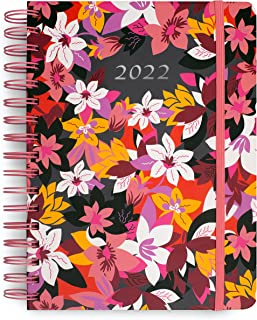 $26 » Vera Bradley 2022 Planner Weekly and Monthly, 12-Month Agenda Book Dated January 2022 - December 2022, Hardcover Personal ...