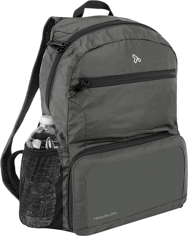 Travelon Unisex-Erwachsene Anti-Theft Packable Backpack Rucksack schwarz