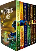 Erin Hunter's Warriors Series (#1-6) : Into the Wild - Fire and Ice - Forest of Secrets - Rising Storm - A Dangerous Path ...