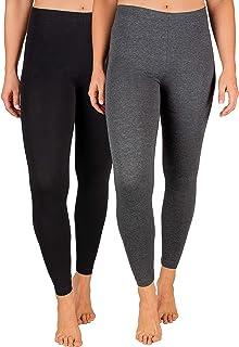 SES Damen Leggings 2er Pack Baumwolle