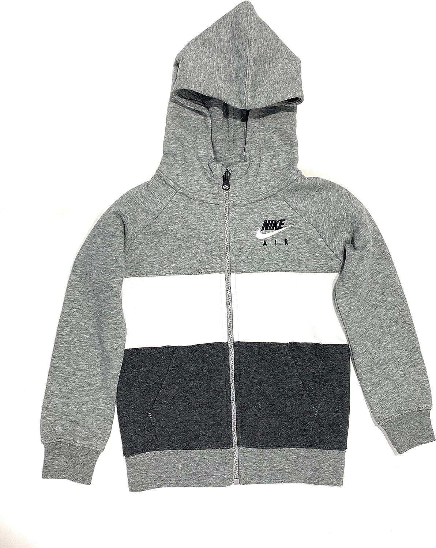 Nike Boys Sportswear Full-Zip Luxury Fleece Hoodie - Dark Size yrs 6-7 Arlington Mall