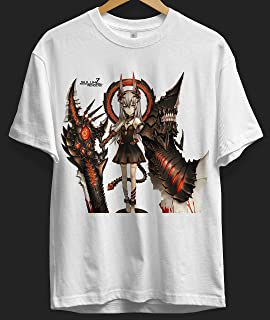 Demon badass anime female badass demon girl Japanese badass anime demon girls T Shirt Long Sleeve Sweatshirt Hoodie for Men and Women