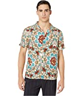 Short Sleeve Floral Sport Shirt