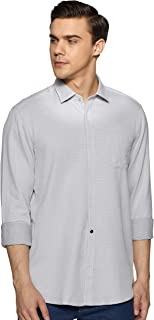 blackberrys Men's Solid Slim Fit Casual Shirt