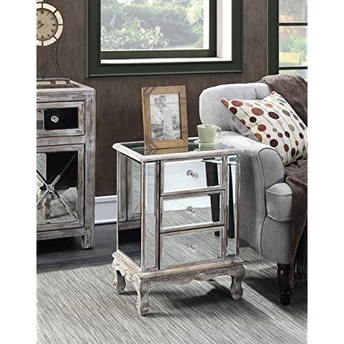 online store 2ecfd 09124 Mirrored Night Stands: Amazon.com