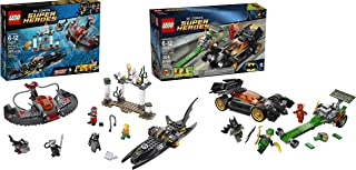 LEGO Superheroes Batman Bundle – The Riddler Chase and Black Manta Deep Sea – 691 Pieces