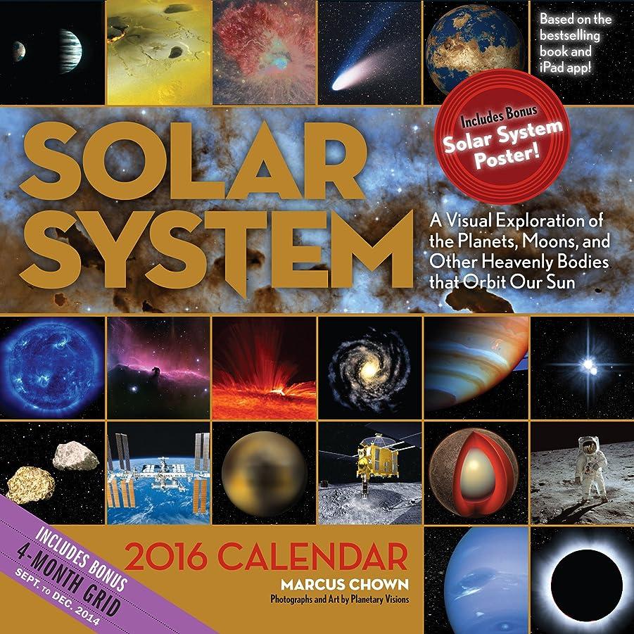ストラトフォードオンエイボン高架減るSolar System 2016 Calendar: A Visual Exploration of the Planets, Moons and Other Heavenly Bodies That Orbit Our Sun