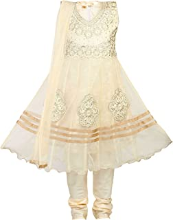 Girls' Netted Salwar Suit